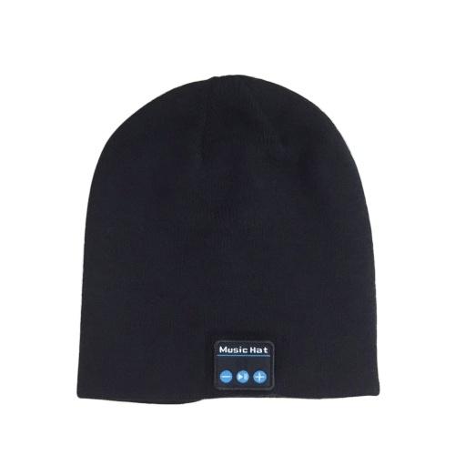 Cappello per la musica a maglia per l'inverno all'aperto