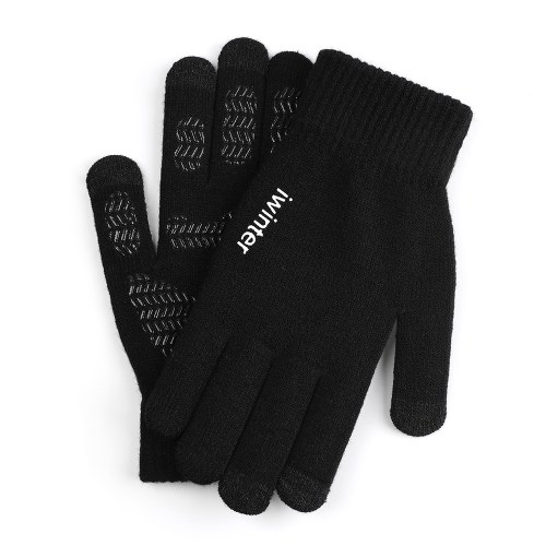 Вязаные сенсорные перчатки с сенсорным экраном