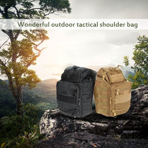 Outdoor Tactical Molle Shoulder Bag Pack Crossbody Bag Sling Bag for Camping &amp; HuntingSports &amp; Outdoor<br>Outdoor Tactical Molle Shoulder Bag Pack Crossbody Bag Sling Bag for Camping &amp; Hunting<br>