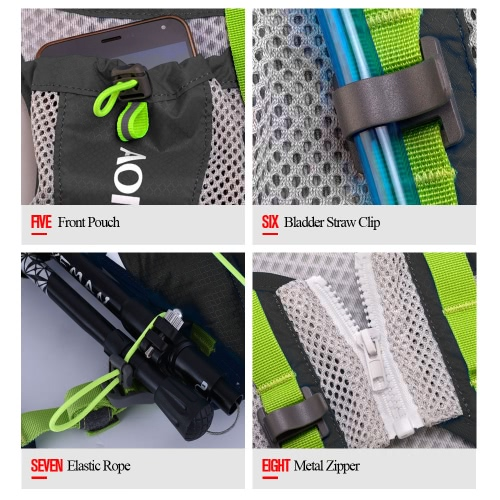 AONIJIE Sports Outdoor Backpack Functional and Ultralight Racksack Unisex Sports Shoulder Pack Water BagSports &amp; Outdoor<br>AONIJIE Sports Outdoor Backpack Functional and Ultralight Racksack Unisex Sports Shoulder Pack Water Bag<br>