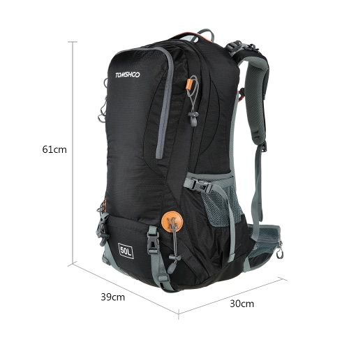 TOMSHOO 50L Versatile Outdoor Hiking Camping Climbing Travel Home Backpack Pack Bag Water Repellent Backpack with Rain Cover RainpSports &amp; Outdoor<br>TOMSHOO 50L Versatile Outdoor Hiking Camping Climbing Travel Home Backpack Pack Bag Water Repellent Backpack with Rain Cover Rainp<br>