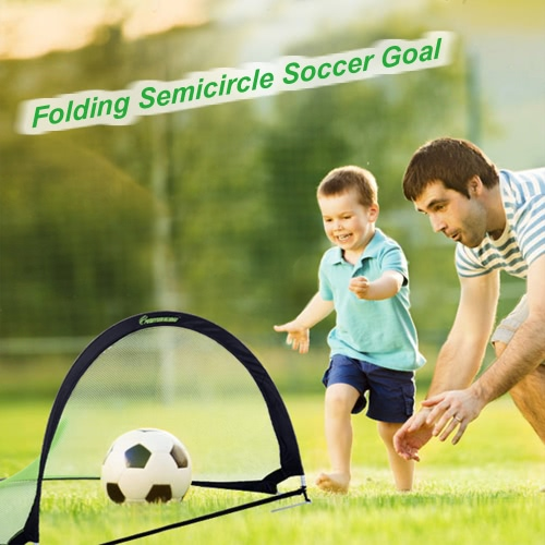 48*30*30in Semicircle Portable Folding Soccer Goal Child Pop Up Soccer Goal for Sports Training Backyard PlaygroundSports &amp; Outdoor<br>48*30*30in Semicircle Portable Folding Soccer Goal Child Pop Up Soccer Goal for Sports Training Backyard Playground<br>