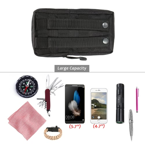 Tactical Pouch Outdoor Military Compact Utility Gadget Carrier Pouch Bag Water Resistant Cell Phone Holder Accessory PouchSports &amp; Outdoor<br>Tactical Pouch Outdoor Military Compact Utility Gadget Carrier Pouch Bag Water Resistant Cell Phone Holder Accessory Pouch<br>