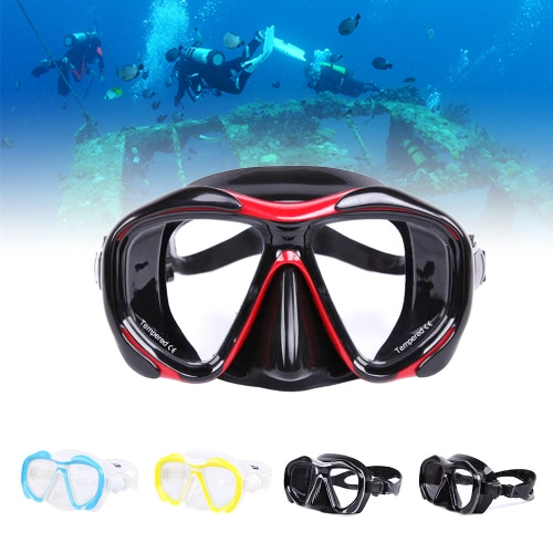 Men's Women's Anti-fog Diving Snorkeling Mask Two-window Scuba Diving Mask Swim Goggles Swimming Mask Tempered Glass Lens FlexibleSports &amp; Outdoor<br>Men's Women's Anti-fog Diving Snorkeling Mask Two-window Scuba Diving Mask Swim Goggles Swimming Mask Tempered Glass Lens Flexible<br>