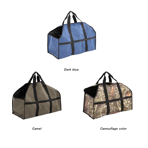 Outdoor Camping Large Wood Bag Oxford Cloth Bag Log Carrier Tote Charcoal Wood Firewood Holder 2 Handles BagSports &amp; Outdoor<br>Outdoor Camping Large Wood Bag Oxford Cloth Bag Log Carrier Tote Charcoal Wood Firewood Holder 2 Handles Bag<br>