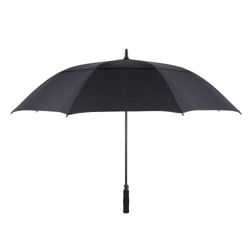 تومشو 61 بوصة المتضخم التلقائي السيارات المفتوحة غولف مظلة أوتور اضافية كبيرة مزدوجة الستارة التهوية يندبروف عصا مظلة