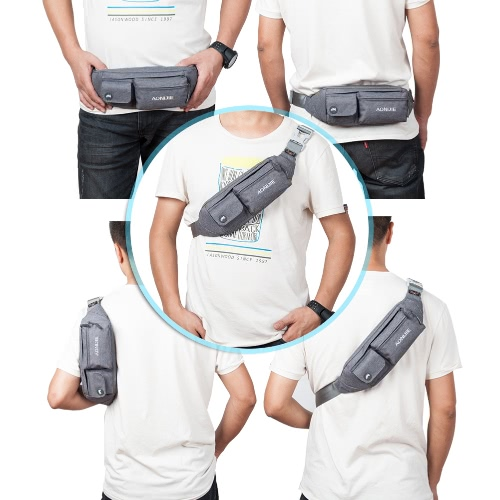 AONIJIE Fanny Pack Waist Bag Travel Pocket Sling Chest Shoulder Bag Phone Holder Running Belt With Separate Pockets Adjustable BanSports &amp; Outdoor<br>AONIJIE Fanny Pack Waist Bag Travel Pocket Sling Chest Shoulder Bag Phone Holder Running Belt With Separate Pockets Adjustable Ban<br>