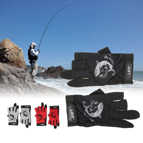 1 Pair 3 Fingerless Fishing Gloves Breathable Quick Drying Anti-slip Fishing Gloves Outdoor Sports Cycling Camping RunningSports &amp; Outdoor<br>1 Pair 3 Fingerless Fishing Gloves Breathable Quick Drying Anti-slip Fishing Gloves Outdoor Sports Cycling Camping Running<br>