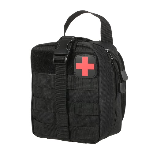 Outdoor Medical First Aid Pouch MOLLE System Utility Bag with First Aid PatchSports &amp; Outdoor<br>Outdoor Medical First Aid Pouch MOLLE System Utility Bag with First Aid Patch<br>