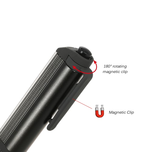 Super Bright LED Mini Pocket Pen Light Inspection Light Lamp Work Flashlight Hand Torch with Rotating Magnetic ClipSports &amp; Outdoor<br>Super Bright LED Mini Pocket Pen Light Inspection Light Lamp Work Flashlight Hand Torch with Rotating Magnetic Clip<br>