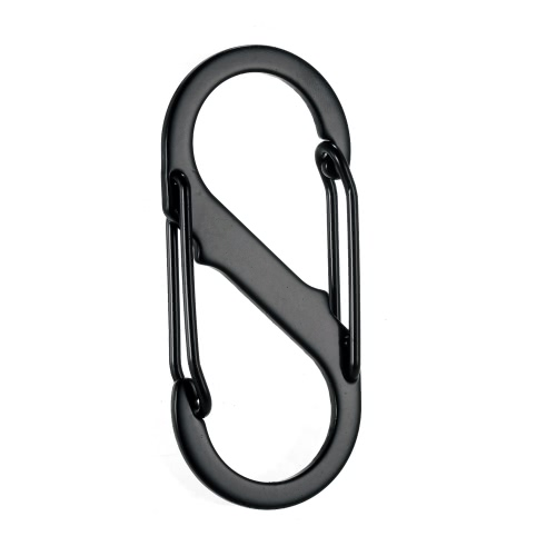 5PCS Outdoor Camping Carabiners Buckles Hooks Equipment S-Biner Dual Spring GateSports &amp; Outdoor<br>5PCS Outdoor Camping Carabiners Buckles Hooks Equipment S-Biner Dual Spring Gate<br>