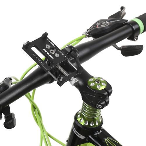 GUB Mountian Bike Phone Mount Universal Adjustable Bicycle Cell Phone GPS Mount Holder Bracket Cradle Clamp