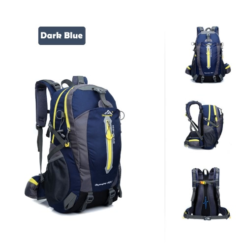 40L Water Resistant Travel Backpack Camp Hike Laptop Daypack Trekking Climb Back Bags For Men WomenSports &amp; Outdoor<br>40L Water Resistant Travel Backpack Camp Hike Laptop Daypack Trekking Climb Back Bags For Men Women<br>