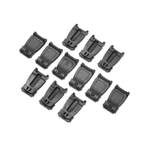Pack of 12 Camping Bag Backpack Accessories Molle Strap Adaptor Webbing Attachment Web Dominator Webbing Loop Connector Buckle CliSports &amp; Outdoor<br>Pack of 12 Camping Bag Backpack Accessories Molle Strap Adaptor Webbing Attachment Web Dominator Webbing Loop Connector Buckle Cli<br>