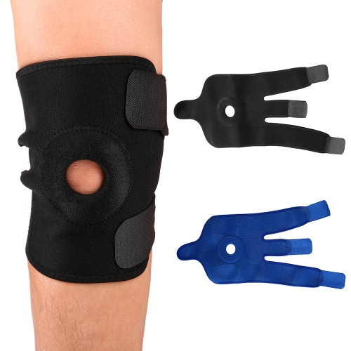 Knee Brace Support Sleeve Open-Patella Stabilizer with Adjustable Strapping Breathable Neoprene SleeveSports &amp; Outdoor<br>Knee Brace Support Sleeve Open-Patella Stabilizer with Adjustable Strapping Breathable Neoprene Sleeve<br>