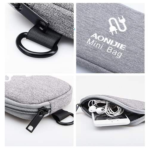 AONIJIE Multifunctional Travel Bag Digital Storage Pouch Power Bank Pockets Coin Purse for iPhone 6Sports &amp; Outdoor<br>AONIJIE Multifunctional Travel Bag Digital Storage Pouch Power Bank Pockets Coin Purse for iPhone 6<br>