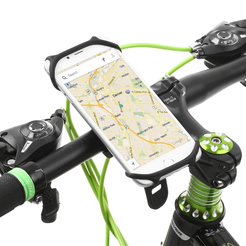 Adjustable Moblie Phone Mount Universal Bicycle Phone Cradle Silicone Cycling Bike Phone HolderSports &amp; Outdoor<br>Adjustable Moblie Phone Mount Universal Bicycle Phone Cradle Silicone Cycling Bike Phone Holder<br>