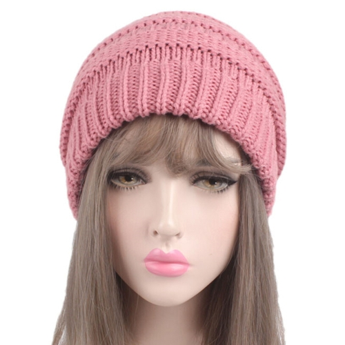 Woolen Warm Hat Fashion Knitting Winter Beanie Cap Chunky Cozy Pure Color Hats for Women Soft  Baggy HeadgearSports &amp; Outdoor<br>Woolen Warm Hat Fashion Knitting Winter Beanie Cap Chunky Cozy Pure Color Hats for Women Soft  Baggy Headgear<br>