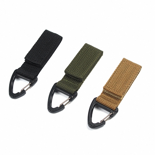 Multifunctional Molle Webbing Belt Clip Climbing Carabiner Buckle High Strength Nylon Hanging Chain Backpack Key HookSports &amp; Outdoor<br>Multifunctional Molle Webbing Belt Clip Climbing Carabiner Buckle High Strength Nylon Hanging Chain Backpack Key Hook<br>