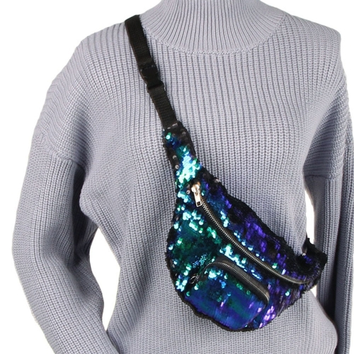 Women Sequins Fanny Pack Beach Waist Bag Chest Bag Sport Outdoor Travel Satchel Waist PackSports &amp; Outdoor<br>Women Sequins Fanny Pack Beach Waist Bag Chest Bag Sport Outdoor Travel Satchel Waist Pack<br>