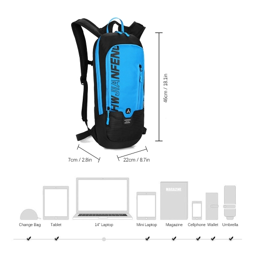 Cycling Backpack Water-resistant Outdoor Sports Bike Travel Daypack Bag for Riding Running Hiking CampingSports &amp; Outdoor<br>Cycling Backpack Water-resistant Outdoor Sports Bike Travel Daypack Bag for Riding Running Hiking Camping<br>