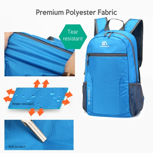25L Ultralight Packable Backpack Water Resistant Foldable Outdoor Sport Camping Hiking Cycling Handy Travel Daypack BagSports &amp; Outdoor<br>25L Ultralight Packable Backpack Water Resistant Foldable Outdoor Sport Camping Hiking Cycling Handy Travel Daypack Bag<br>