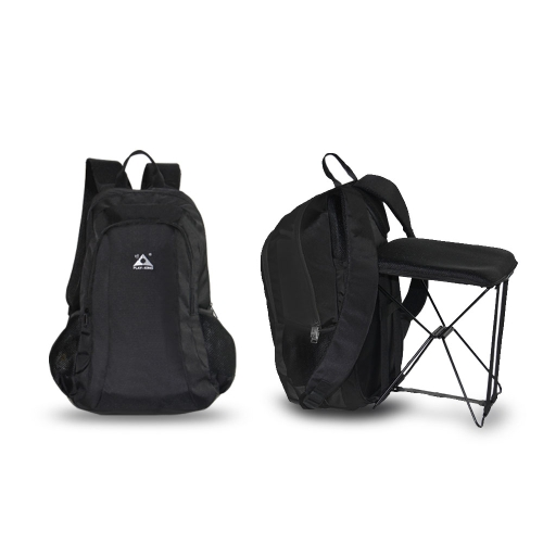 47L Camping Travel Backpack with Folding Chair Backpack and Stool Chair Combo Gear for Outdoor Hiking FishingSports &amp; Outdoor<br>47L Camping Travel Backpack with Folding Chair Backpack and Stool Chair Combo Gear for Outdoor Hiking Fishing<br>