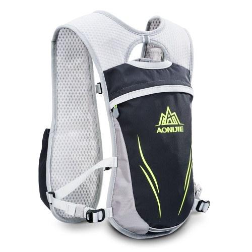AONIJIE Extérieure Hydration Pack Courir Gilet Pack Eau Vessie Sac pour Sports Courir Randonnée Vélo Escalade Marathon