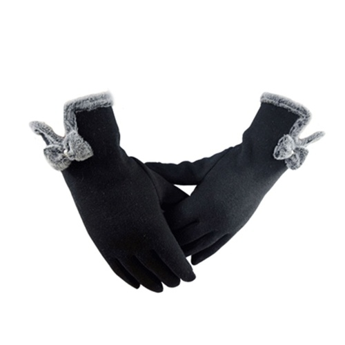 Женские осенние зимние теплые перчатки