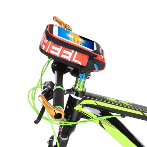Multifunctional Bicycle Tube Frame Cycling Pannier Bike Bag Touchscreen Phone Holder BagSports &amp; Outdoor<br>Multifunctional Bicycle Tube Frame Cycling Pannier Bike Bag Touchscreen Phone Holder Bag<br>