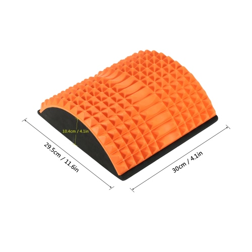 Yoga Fitness Arched Back Stretching Non-powered Spike Traction Device Spinal Lower Back Massage Support Stretcher RelaxSports &amp; Outdoor<br>Yoga Fitness Arched Back Stretching Non-powered Spike Traction Device Spinal Lower Back Massage Support Stretcher Relax<br>