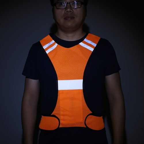 Outdoor Sports Running Reflective Safety Vest Gear with LED Lights High Visibility for Exercise Jogging CyclingSports &amp; Outdoor<br>Outdoor Sports Running Reflective Safety Vest Gear with LED Lights High Visibility for Exercise Jogging Cycling<br>