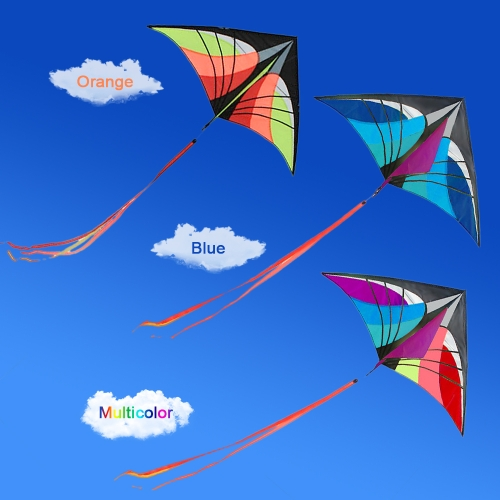 160 x 90cm / 63 x 35.5in Large Delta Kite Outdoor Sport Single Line Flying Kite with Tail for Kids AdultsSports &amp; Outdoor<br>160 x 90cm / 63 x 35.5in Large Delta Kite Outdoor Sport Single Line Flying Kite with Tail for Kids Adults<br>