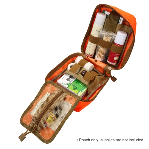 Lixada Outdoor MOLLE Medical Pouch First Aid Kit Utility Bag Emergency Survival First Responder Medic BagSports &amp; Outdoor<br>Lixada Outdoor MOLLE Medical Pouch First Aid Kit Utility Bag Emergency Survival First Responder Medic Bag<br>