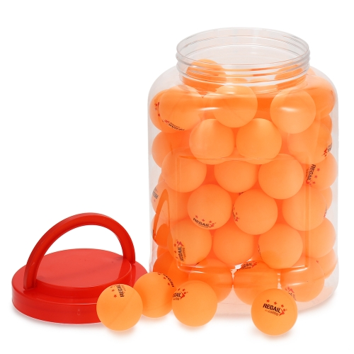 60Pcs 3 estrellas bolas de ping pong bolas de tenis de mesa de práctica de formación