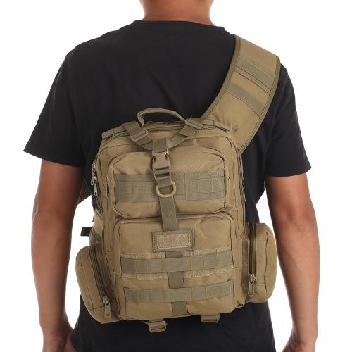Lixada 25L Outdoor Molle Daypack Crossbody Bag Large Shoulder Bag Sling Pack Backpack for Hiking Camping Trekking HuntingSports &amp; Outdoor<br>Lixada 25L Outdoor Molle Daypack Crossbody Bag Large Shoulder Bag Sling Pack Backpack for Hiking Camping Trekking Hunting<br>