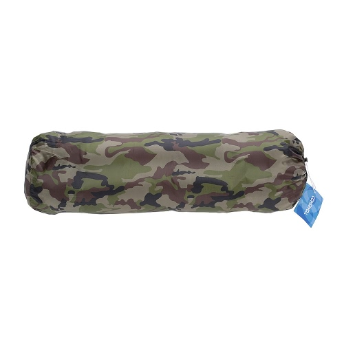 TOMSHOO Outdoor Camping Thick Automatic Inflatable Mattress Self-Inflating Tent Mat Picnic Mat with Pillow