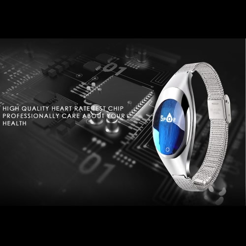 Women Fashion BT Smart Watch Metal Wristwatch Bracelet High Definition LED with Blood Pressure Heart Rate Monitor Pedometer FitnesSports &amp; Outdoor<br>Women Fashion BT Smart Watch Metal Wristwatch Bracelet High Definition LED with Blood Pressure Heart Rate Monitor Pedometer Fitnes<br>