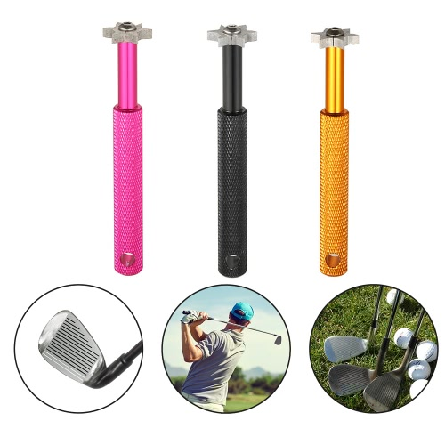 Golf Groove Sharpener Tool Club Groove Cleaner Sharpener Tool Six Cutters Club Cleaning ToolSports &amp; Outdoor<br>Golf Groove Sharpener Tool Club Groove Cleaner Sharpener Tool Six Cutters Club Cleaning Tool<br>