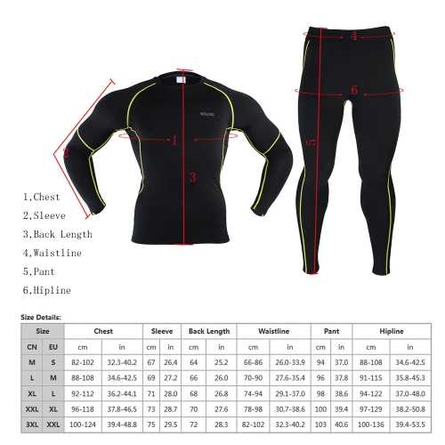 ARSUXEO Exercise Compression Jersey &amp; Tights Quick-dry Base Layers Running Fitness Bodybuilding Men Clothes Shirt Pant Jersey SuitSports &amp; Outdoor<br>ARSUXEO Exercise Compression Jersey &amp; Tights Quick-dry Base Layers Running Fitness Bodybuilding Men Clothes Shirt Pant Jersey Suit<br>