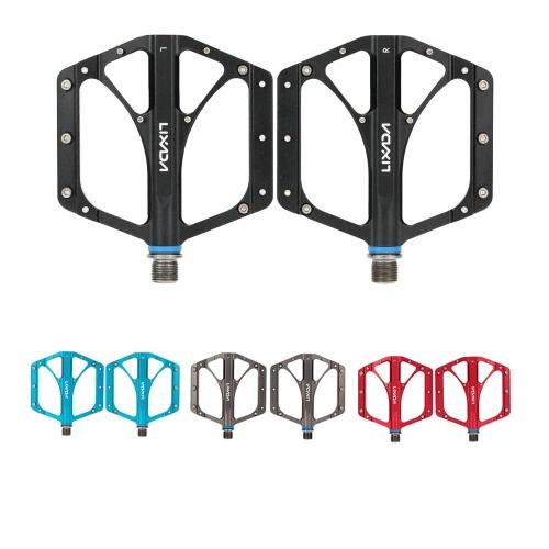 2Pcs Lixada MTB Folding Bicycle CNC Aluminum Alloy Sealed Bearing Platform Pedals 9/16Sports &amp; Outdoor<br>2Pcs Lixada MTB Folding Bicycle CNC Aluminum Alloy Sealed Bearing Platform Pedals 9/16<br>