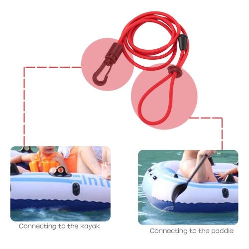 1pc 4mm Thick Elastic Kayak Canoe Safety Rod Leash Fishing Rod Lanyard Paddle LeashSports &amp; Outdoor<br>1pc 4mm Thick Elastic Kayak Canoe Safety Rod Leash Fishing Rod Lanyard Paddle Leash<br>