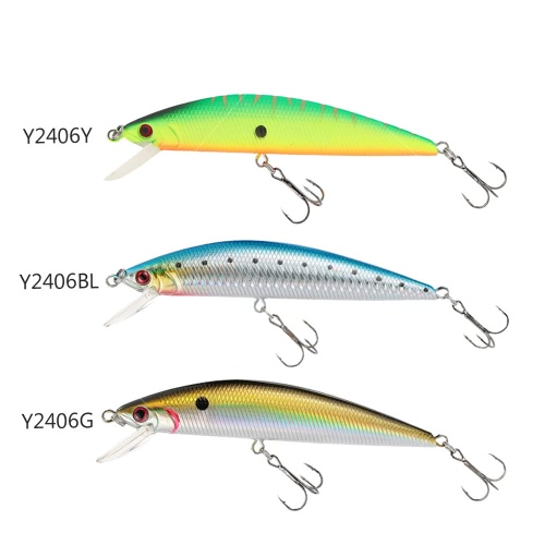 13cm 35g Sinking Minow Fishing Lure Hard Bait with Treble HooksSports &amp; Outdoor<br>13cm 35g Sinking Minow Fishing Lure Hard Bait with Treble Hooks<br>