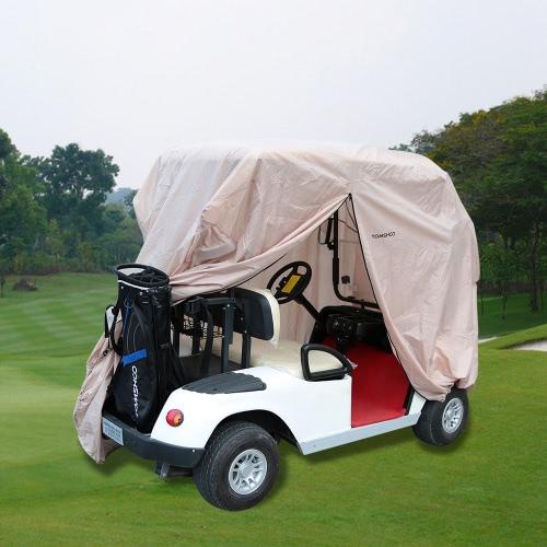 تومشو 2/4 الركاب الغولف غطاء الغولف سيارة سقف الضميمة