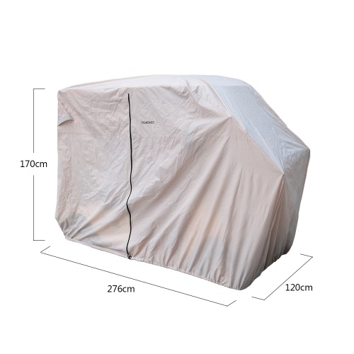 TOMSHOO 2 / 4 Passenger Golf Cart Cover Golf Car Roof EnclosureSports &amp; Outdoor<br>TOMSHOO 2 / 4 Passenger Golf Cart Cover Golf Car Roof Enclosure<br>
