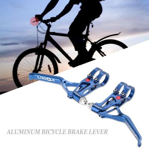 Lixada Bicycle CNC Aluminum Brake Lever MTB Mountain Bike 3 Fingers Mechanical Brake Levers 1 PairSports &amp; Outdoor<br>Lixada Bicycle CNC Aluminum Brake Lever MTB Mountain Bike 3 Fingers Mechanical Brake Levers 1 Pair<br>