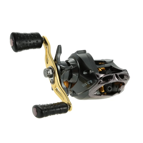 12+1 Ball Bearings Fishing Reel 6.3:1 Gear Ratio Bait Casting Reel Right/Left Handed Fishing Reel Magnetic Braking System High SpeSports &amp; Outdoor<br>12+1 Ball Bearings Fishing Reel 6.3:1 Gear Ratio Bait Casting Reel Right/Left Handed Fishing Reel Magnetic Braking System High Spe<br>