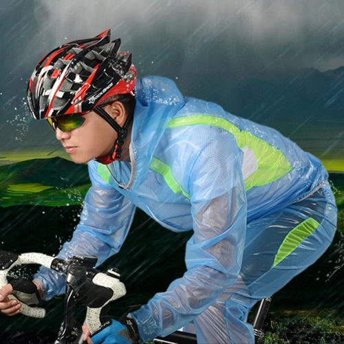 ROCKBROS Breathable Ultra-thin Unisex Bicycle Bike Hiking MTB Raincoat Suit Jacket Outerwear Pants Outdoor Sports Wet Weather GearSports &amp; Outdoor<br>ROCKBROS Breathable Ultra-thin Unisex Bicycle Bike Hiking MTB Raincoat Suit Jacket Outerwear Pants Outdoor Sports Wet Weather Gear<br>