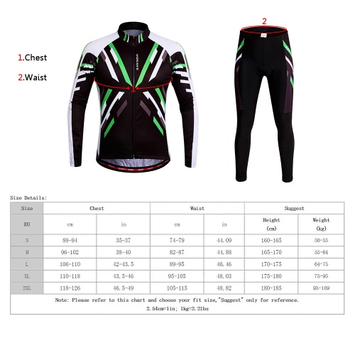 WOSAWE® Quick-dry Stretchy Unisex Mountain Biking Cycling Long Sleeve Jersey Pants Bicycle Tights Clothing Sets Suits Outdoor SporSports &amp; Outdoor<br>WOSAWE® Quick-dry Stretchy Unisex Mountain Biking Cycling Long Sleeve Jersey Pants Bicycle Tights Clothing Sets Suits Outdoor Spor<br>