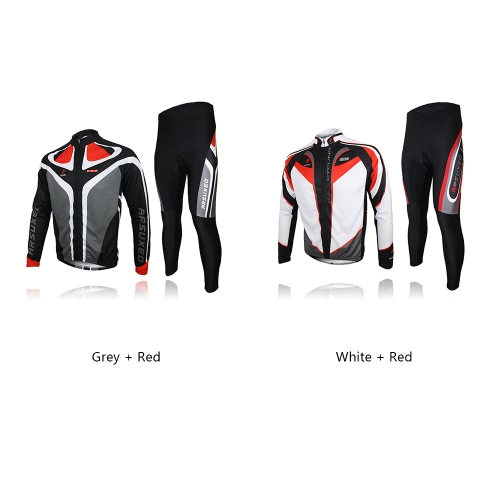 ARSUXEO Mens Outdoor Breathable Comfortable Long Sleeve Jacket Padded Pants Cycling Clothing Set Riding SportswearSports &amp; Outdoor<br>ARSUXEO Mens Outdoor Breathable Comfortable Long Sleeve Jacket Padded Pants Cycling Clothing Set Riding Sportswear<br>